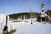 This church near Pagosa Springs CO