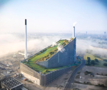 This Danish power plant has a park built on top of it