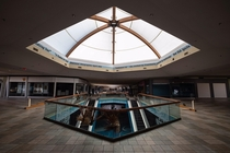 This enormous abandoned mall is now being used for the COVID- pandemic