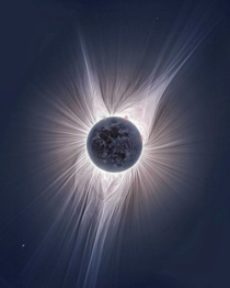 This HDR image of the solar eclipse in  was recently released for the first time and it shows one of the most detailed depictions of a solar corona ever taken