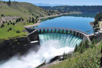 This interesting dam in Polson Montana