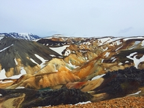 This is a real place on planet earth Landmannalaugar in Icelands highlands