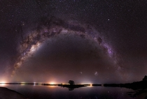 This is a  shot MP image I took recently of the Milky Way over Island Point in Western Australia