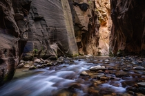This is an actual hike I did in Zion National Park - The Narrows OCx