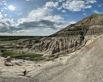 This is dinosaur country Drumheller Alberta