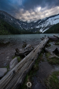 This is from Avalanche Lake in Glacier National Park Montana