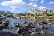 This is Island Lake in Wyomings spectacular Wind River Range x