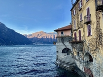 This is Italy Nesso on Lake Como