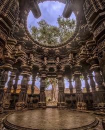 This is Kopeshwar temple This is situated at KhidrapurMaharashtra India This was built by the Shilahara king Gandaraditya The temple is dedicated to hindu supreme energy God Shiva
