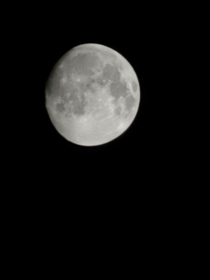 This is my first attempt at taking a picture of the moon on my P pro mobile device Its actually helping my depression just gazing at it I hope you guys like it Godbless if you have any tips would be good thank you