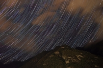 this is my first star trail and I took  hours to do this but im very happy of the result Crodo Italy