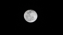 This is my very first picture of a full moon