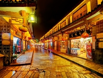 This is part of Lijiang China a few months before it burned down Sad Emoticon