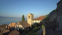 This is St-Saphorin on the shore of Lake Geneva Switzerland This picture is one frame of my video youtubez-gNJ-M