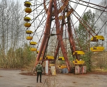 This is such a iconic part of Pripyat so i had to do it my self