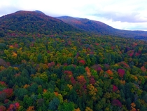 This is Vermont in the Fall - Buels Gore VT