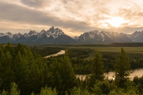 This is why I always get to location BEFORE sunset Grand Tetons WY