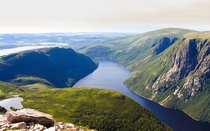 This is why we hike - Gros Morne national park Newfoundland Canada