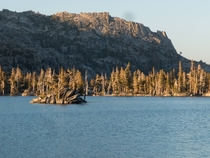 This island in the Sierra resembles the Sydney Opera House Desolation Wilderness CA