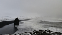 This isnt in black and white Reynisfjara beach Iceland