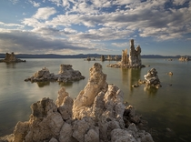 This landscape might be just a little too alien to qualify as EarthPorn Mono Lake California