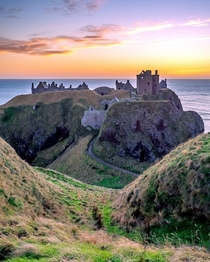 This Medieval Fortress On The Scottish Coastline