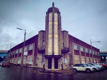 This officefactory has lain abandoned just outside the centre of Glasgow for as long as I can remember If you look closely its a masterpiece of Artdeco design