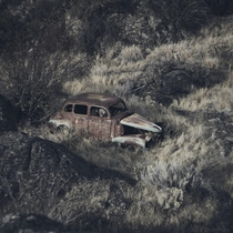 This old car in Northrup Canyon Washington