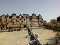 This Palace from a village in Rajasthan India