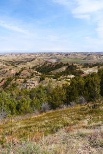 This park is often a quick stop for people but if you spend some time here it will show you just how beautiful it can be Theodore Roosevelt National Park North Dakota