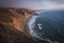 This past evenings sunset light in Point Reyes California
