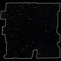 This photo is called the Hubble Legacy Field If you click on this image and zoom right in every speck of light represents an entire galaxy which typically contains hundreds of billions of stars