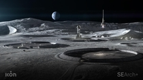 This render of a moon base by NASA sounds amazing source in comments