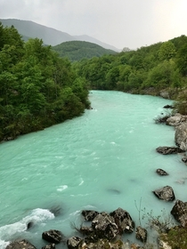 This river between Italy and Slovenia is famous for its particular color x