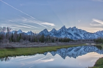 This spot gives me chills every time I come Schwabachers Landing Grand Teton National Park