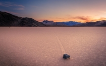This still blows my mind Racetrack Playa Death Valley National Park