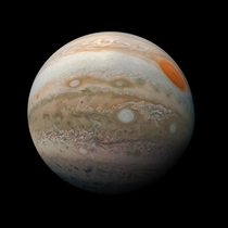 This striking view of Jupiters Great Red Spot and turbulent southern hemisphere was captured by Juno as it performed a close pass of the gas giant planet Credits NASAJPL-CaltechSwRIMSSSKevin M Gill