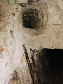 This tin and tungsten mine was abandoned in the s These are older workings from the s