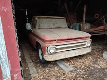 This truck Im about to buy parked and forgotten for  years