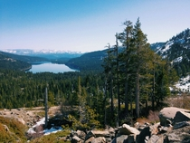 This view brought me to tears Donner Pass - Truckee CA by me