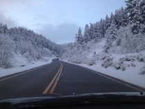 This was my morning commute last year in Park City UT