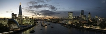 This was my view this weekend Sunset from the Tower Bridge London