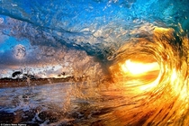This wave is eating up the sun