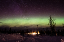 This week I was lucky enough to shoot the northern lights for the first time