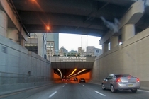 Thomas P ONeill Jr Tunnel in Boston - Highway goes under the city