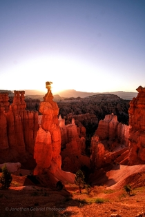 Thors Hammer Bryce Canyon National Park Utah x OC