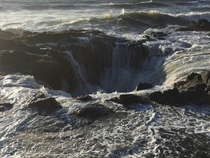Thors Well Cape Perpetua OR T Fulton