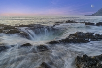 Thors Well the sink hole in Oregons Pacific Ocean OC