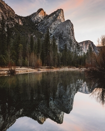 Three Brothers in Yosemite National Park  IG seanhew