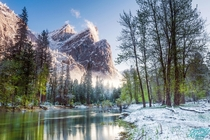 Three Brothers Yosemite National Park CA  by Jeremy Vesely